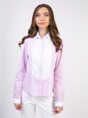 Блуза сиреневая | 5347321