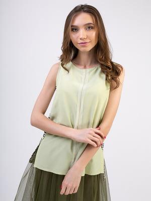 Блуза зеленая | 5352066