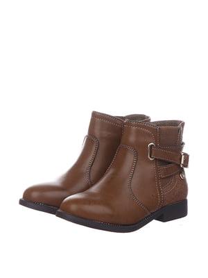 Черевики коричневі | 5360981