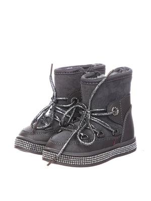 Ботинки серые | 5361014