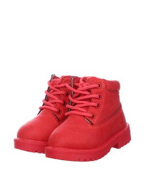 Ботинки красные | 5361017