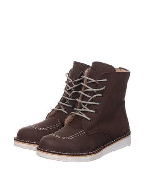Черевики коричневі | 5361032