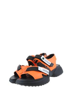 Босоніжки помаранчеві | 5359306