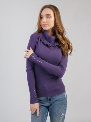 Джемпер фиолетовый | 5359113