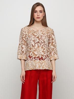 Блуза бежевая | 5361686