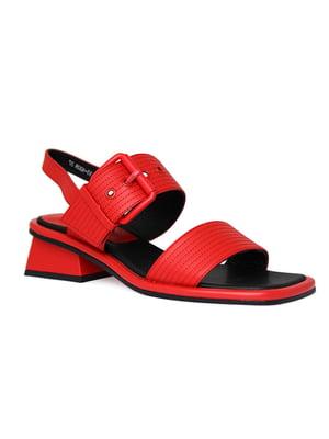 Сандалі червоні | 5345057