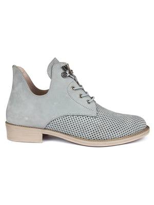 Ботинки серые | 5361745