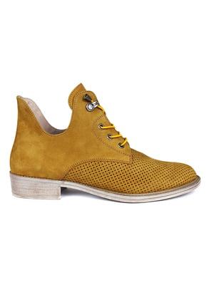 Ботинки желтые | 5361746