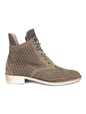 Ботинки бежевые | 5361747