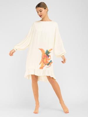 Сукня молочного кольору | 5362504