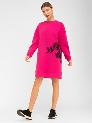 Сукня малинового кольору | 5362505