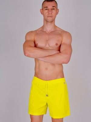 Шорты купальные желтые | 5362936