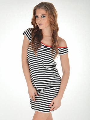 Платье пляжное в полоску | 5363199
