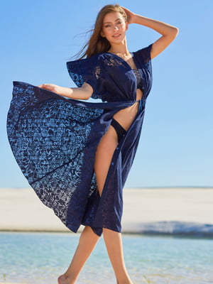 Туника пляжная синяя | 5363254