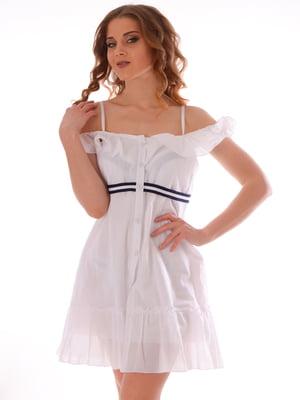 Платье пляжное белое | 5363207