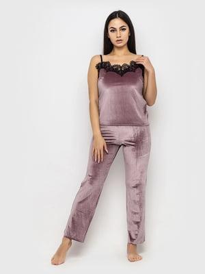Комплект пижамный: майка и брюки | 5363959