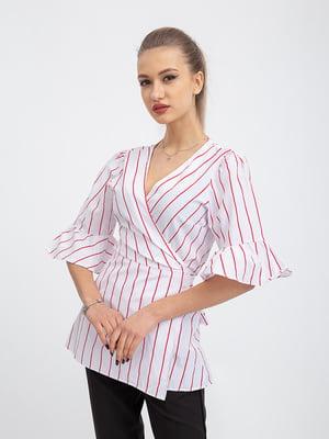 Блуза белая в полоску   5364207