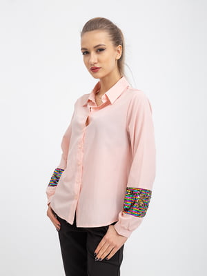 Рубашка персикового цвета | 5364390