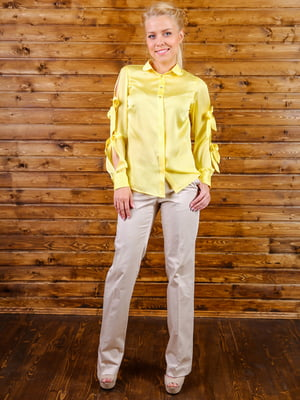 Блуза лимонного цвета | 5364083