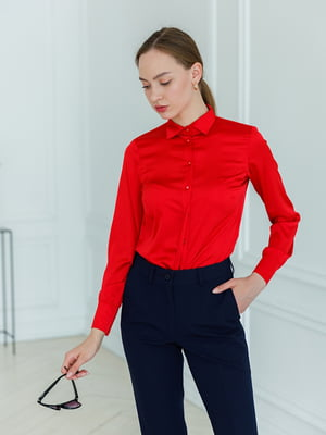 Блуза красная | 5364085