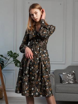 Сукня з принтом   5364527