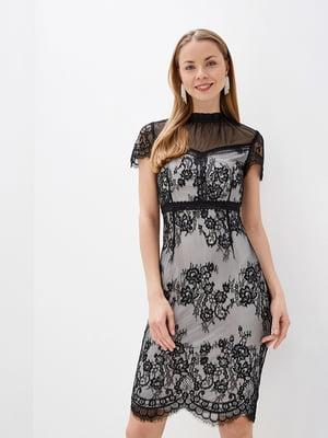 Сукня біло-чорна   5348863