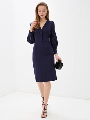 Сукня темно-синя | 5348864