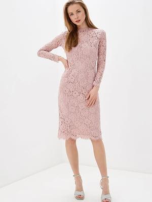 Сукня рожева в квітковий принт   5348884