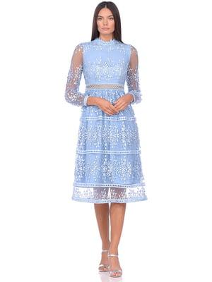 Сукня блакитна   5348894