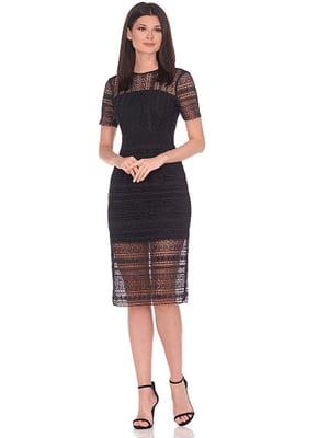 Сукня чорна в принт   5348897