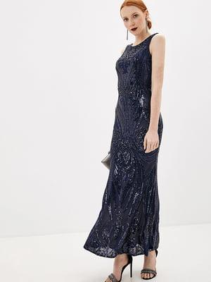 Сукня темно-синя | 5348917