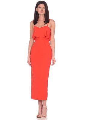 Сукня коралового кольору | 5348920