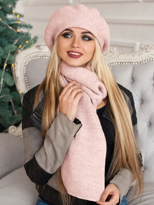 Комплект: берет и шарф | 5363506