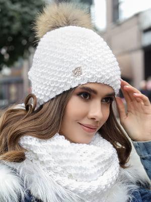 Комплект: шапка и шарф-снуд | 5363518