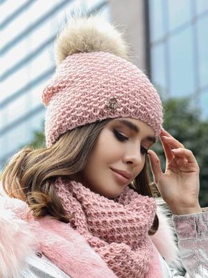 Комплект: шапка и шарф-снуд | 5363519