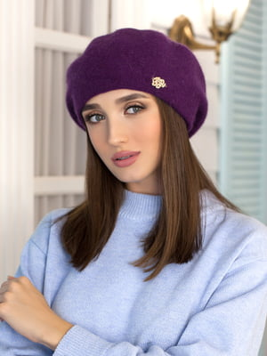 Берет фіолетовий   5363532