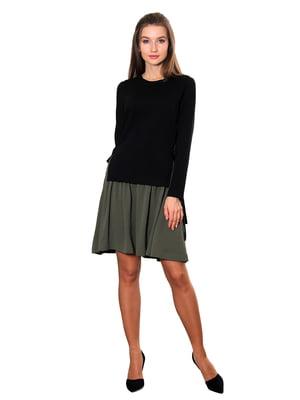 Сукня комбінованого забарвлення | 5366440