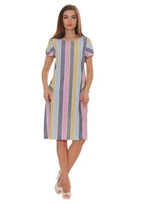 Сукня в яскраву смужку | 5366453
