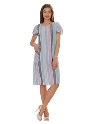 Сукня в бліду смужку | 5366454