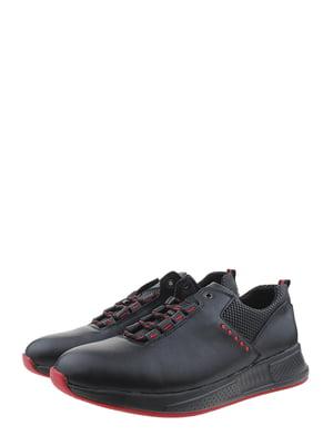 Кросівки чорно-червоні | 5364050