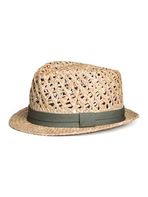Шляпа песочного цвета | 5366558