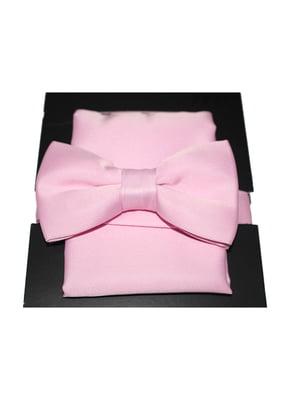 Галстук-бабочка розовая | 5366563