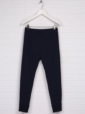 Брюки пижамные темно-синие   5366571