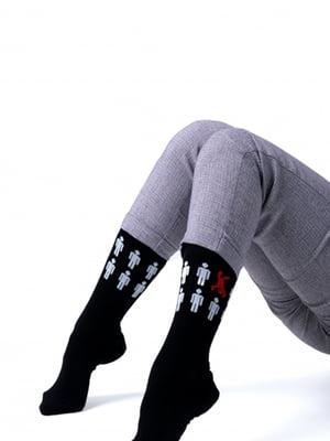 Носки комбинированной расцветки | 5366643