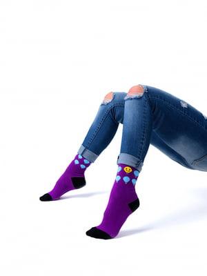 Шкарпетки комбінованого забарвлення | 5366644