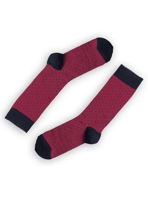 Носки бордовые | 5366648
