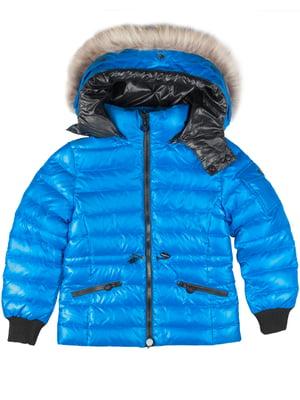 Куртка світло-синя | 4695358