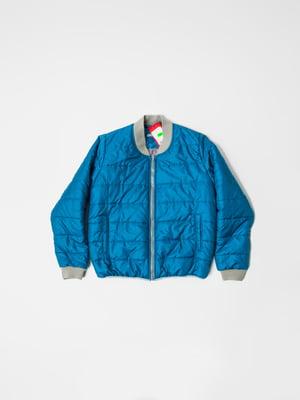 Бомбер синий | 5365637