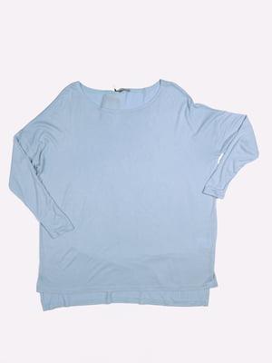 Лонгслив голубой   5365663