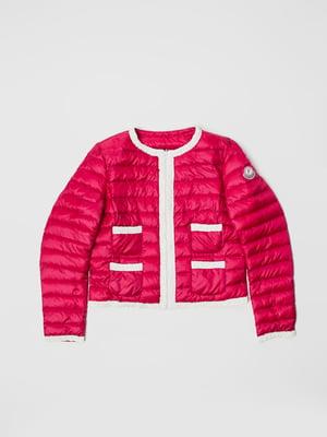 Куртка малинового цвета | 5365990